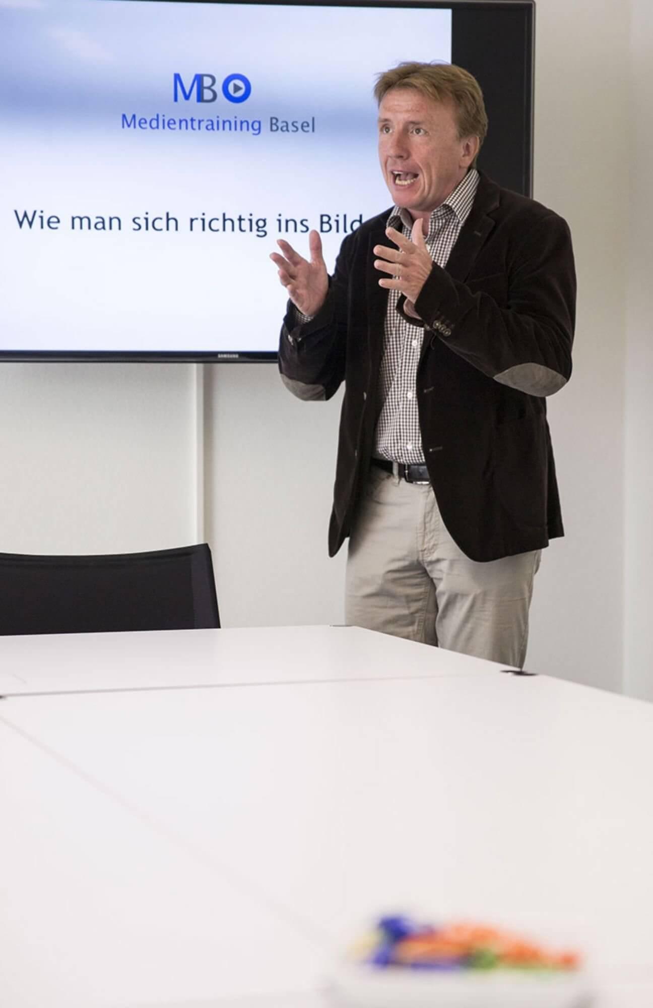 René Häfliger / Medientraining